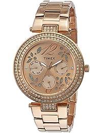 Timex Analog Brown Dial Women's Watch - TWEL12003