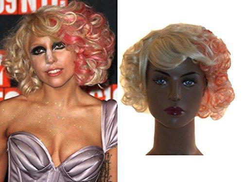 deluxe-lady-gaga-mtv-monster-ballo-bionda-rosso-striscia-ricci-fashion-parrucca-a-caschetto