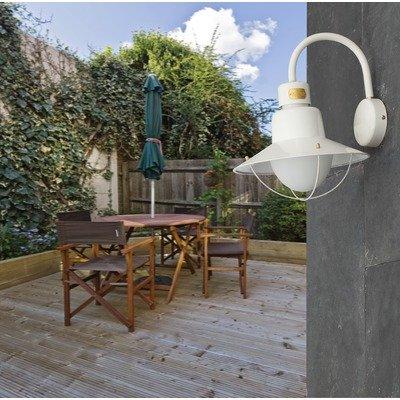 Francia lampade applique Newport, metallo, bianco