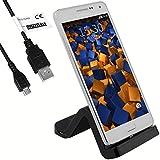 mumbi USB Station d'accueil Samsung Galaxy S7 / S7 Edge / A5 / A5 2016 - Chargeur + USB Câble de Données