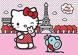 AG Design FTS 1325 Hello Kitty, Papier Fototapete - 360x254 cm - 4 teile, Papier, multicolor, 0,1 x 360 x 254 cm