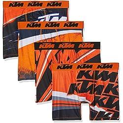 KTM T075-1-L, Boxer para Hombre, Large (Tamaño del Fabricante:L)(Pack de 4)