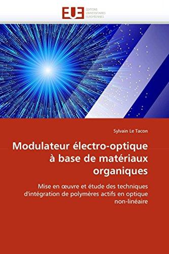Modulateur électro-optique à base de matériaux organiques