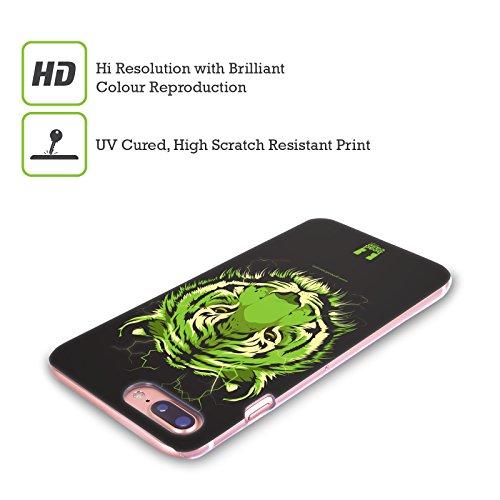 Head Case Designs Nebulosa Anniversario Mix Cover Retro Rigida per Apple iPhone X Tigre Del Bengala Selvatica