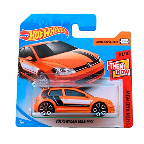 Hot Wheels Volkswagen Golf MK7 - Serie Then and Now 2018 - 10/10 (Short Card)
