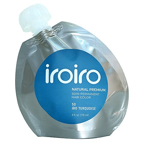 (Iroiro Premium Natural Semi-permanenten Haar Color 50 Iro-Türkis 4 Oz)