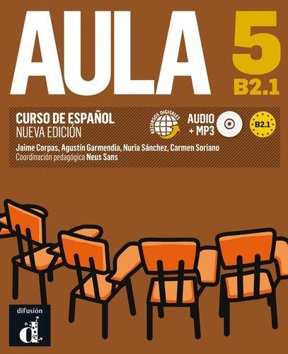 Portada del libro Aula 5 Nueva edición (B2.1) - Libro del alumno (Ele - Texto Español)