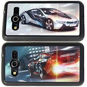 DMG Premium 3D TPU Protective Back Cover Case for Samsung Galaxy Core 2 (Automobile New)