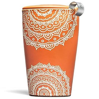 TEA FORTE' KATI - Arancio - Chakra (KATI CUP - CHAKRA) TAZZA TERMICA CON INFUSORE by tea fortè