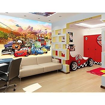 Kinder Fototapete - Poster CARS-AUTOS Kinderzimmer Wandbild, Bordüre ...