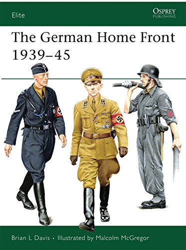 The German Home Front 1939-45 (Elite, Band 157)