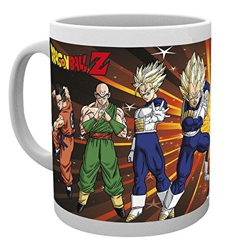 "NO.1 COFFEE & TEA PRODUCTS GB EYE ""Z FIGHTERS"" DRAGON BALL Z MUG, MULTI-COLOUR BEST BUY REVIEWS UK"