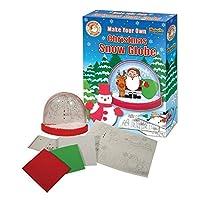 Make Your Own Christmas Snow Globe Xmas Craft Activity Fridge Magnet