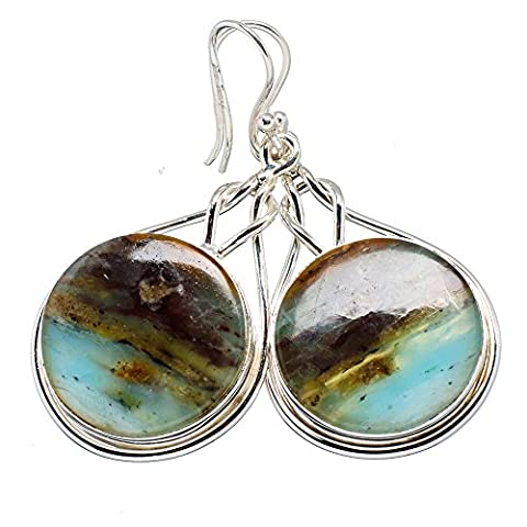 Ana Silver Co Peruvian Opal 925 Sterling Silver Earrings 2