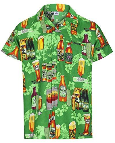 Redstar Fancy Dress   Camisa Hawaiana Manga Corta