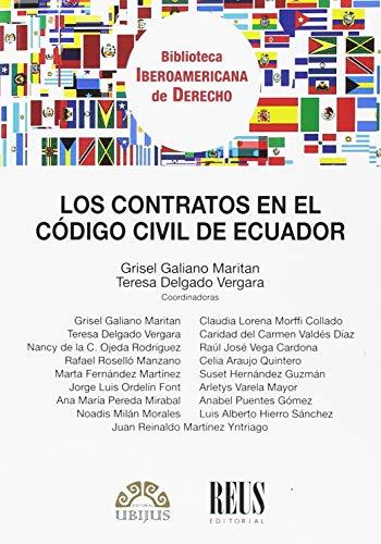 Los contratos en el Código civil de Ecuador (Biblioteca Iberoamericana de Derecho)