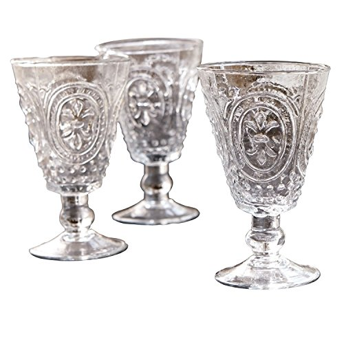 LOBERON Weingläser 4er Set Sarton, Glas, H/B/T ca. 15,5/9 / 9 cm, klar