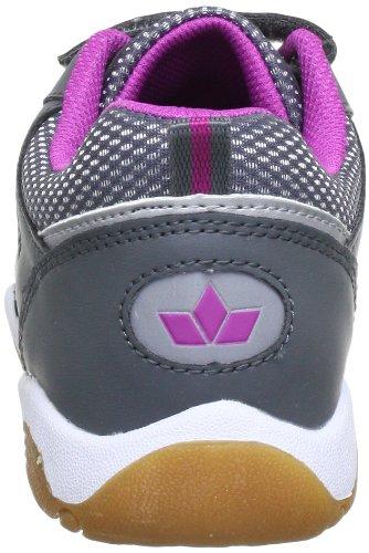 Lico Indoor V 360330, Scarpe sportive indoor bambina Grigio (Grau (grau/pink))