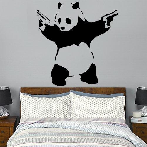 wandtattoo-banksy-panda-mit-pistolen-gr-xl