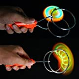 Bright Enterprise Magnetic Flashing Yoyo Wheel Toy - Multi Colour
