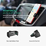 Car Phone Holder, Mpow Air Vent Cars Mount 360° Rotation E-Clip One Step Mounting Car Phone Cradle for iPhone XS/X/8/7/7 Plus/6s Plus/5S/HTC Huawei P20 and Others Bild 1
