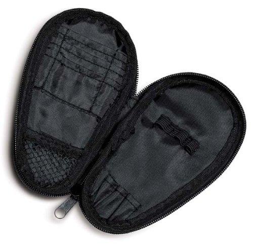 Solex Sports Dart Etui Soft-Cover Aufbewahrung für Darts Zubehör Tips Schäfte Flights viele Innentaschen mit Gürtelclip (Cover Dart Board)