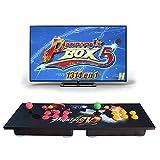King Bomb Pandora Box 5 Versión Mejorada Arcade Game Console 1314 en 1 TV Video Game Kit con 2 Joystick Partes de la Fuente de alimentación HDMI y VGA y Salida USB