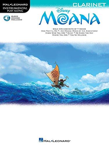 Hal Leonard Instrumental Play-Along: Moana - Clarinet (Book/Online Audio)