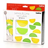 Fishbowl Reusable Ice Cubes,, Lemon & Lime, Set - Best Reviews Guide