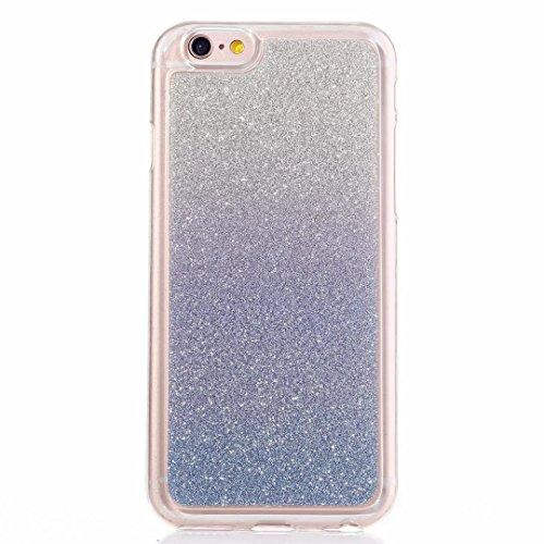 MUTOUREN Funda Cover iPhone SE 5 5S Cubierta Bling Funda Case de Silicona TPU Carcasa del Suave Soft...
