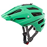 Mountainbike Helm Cratoni All Track, green-black rubber, Gr. S/M (54-58 cm)
