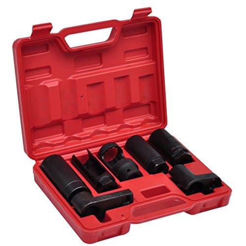 Steckschlüsselsatz für Lambdasonden Multimarken 22 mm (6-kant), Länge des Steckers: 58 mm (1/2 Zoll)