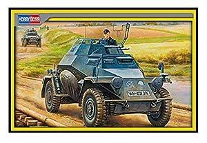Hobby Boss 80149Maqueta de Tanque German Ligero spah Carro Mid Versión, 2cm