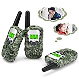 Fansteck Kid Walkie Talkies 3 Pcs, Children Walky Talky, Two-way Radios, 8 Channels