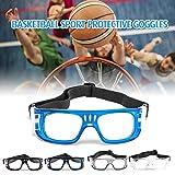 Walmeck- Anti-Fog Basketball Schutzbrille Sport Schutzbrillen Fußball Fußball Eyewear Plain Brille Augenschutz für Männer Frauen