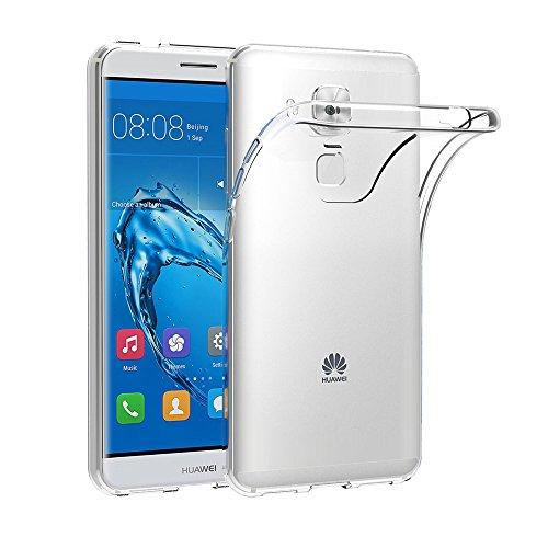 Cover per Huawei Nova Plus, AICEK Cover Huawei Nova Plus Silicone Case Molle di TPU Trasparente Sottile Custodia per Huawei Nova Plus
