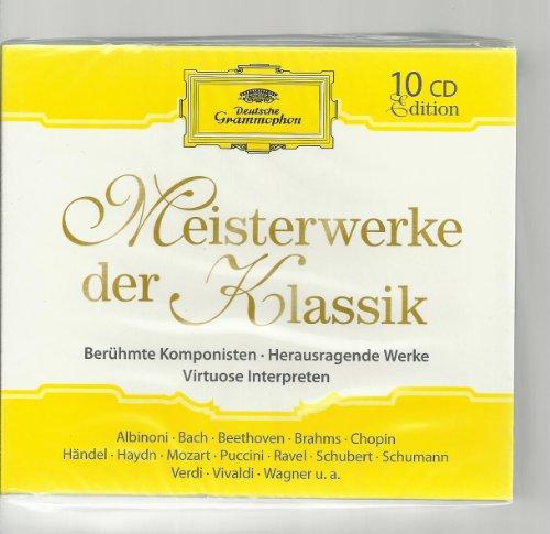 Meisterwerke der Klassik - Berühmte Komponisten/ Herausragende Werke/ Virtuose Interpreten (10CD-BOX Set)
