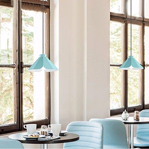 Die einfache Beleuchtung Moderne Pendelleuchte Kronleuchter Esstisch Lounge Studie Innenbeleuchtung, White Light-b (Holz Set Esstisch Sockel)