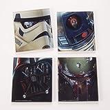 Star Wars 4PC. Glas-Untersetzer