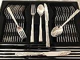 Bavary Luxus Edelstahl 113 tlg. BESTECKSET Besteck Set TAFELBESTECK BESTECKKOFFER (Paris)