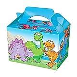 12 X, Design: Dinosaurier Party-Lebensmittelboxen, Brotdose