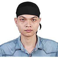 sourcingmap Unisex Sports Motorcycle Bicycle Breathable Headband Cycling Head Scraf Headwrap Sweat Cap Hat