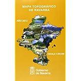 Mapa Topográfico De Navarra 1:200000