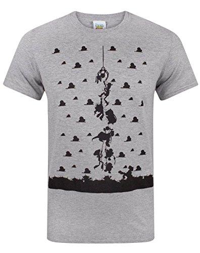 disney-toy-story-t-shirt-a-logo-manches-courtes-homme-gris-gris-taille-unique-gris-small