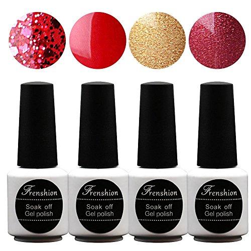 frenshion-lot-of-4pcs-73ml-pc-soak-off-uv-led-gel-nail-polish-base-top-nail-art-manicure-kit-long-la