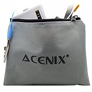 ACENIX® 50 in 1 Tool Kit Bag ForProfessional Mobile Phone Repairing Opening Tools Pry Spudger Screwdriver Kit for iPhone 2G, 3G , 3GS, 4, 4s , 5, 5c, 5s , 6 , 6 Plus iPad 1,2,3,4 iPod Samsung S2,S3,S4,S5,S6 Nokia HTC by ACENIX®