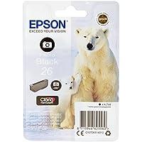 Epson 26 Serie Orso Polare Cartuccia Originale, Standard, Nero Foto -  Confronta prezzi e modelli