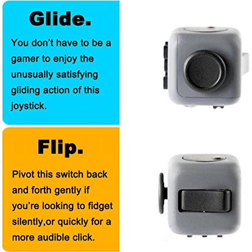 Fidget Cube Relieves Stress And Anxiety for Children and Adults (2 JYZS) - 5