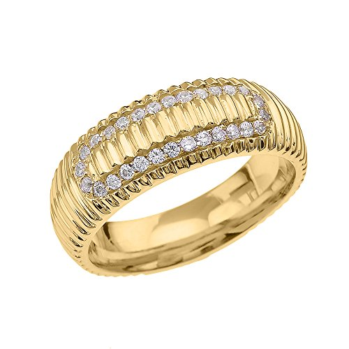 10ct-yellow-gold-diamond-watch-band-design-mens-comfort-fit-wedding-ring