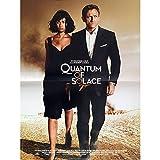QUANTUM OF SOLACE Französischer Film Poster 15x 21–2008–James Bond, Daniel Craig